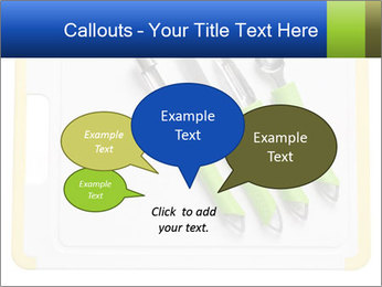 Green Kitchen Utensils PowerPoint Template - Slide 73
