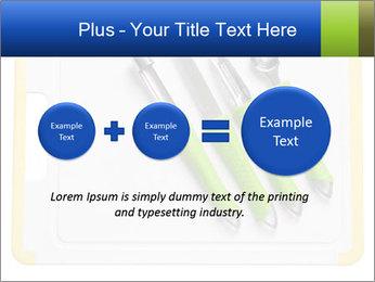 Green Kitchen Utensils PowerPoint Template - Slide 75