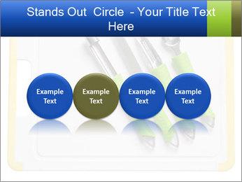 Green Kitchen Utensils PowerPoint Template - Slide 76