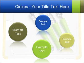 Green Kitchen Utensils PowerPoint Template - Slide 77