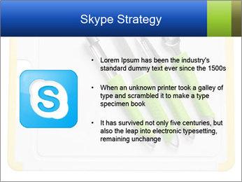 Green Kitchen Utensils PowerPoint Templates - Slide 8
