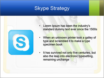 Green Kitchen Utensils PowerPoint Template - Slide 8