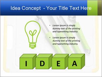 Green Kitchen Utensils PowerPoint Templates - Slide 80