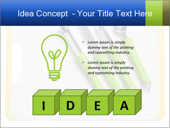 Green Kitchen Utensils PowerPoint Template - Slide 80