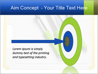 Green Kitchen Utensils PowerPoint Template - Slide 83