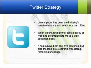 Green Kitchen Utensils PowerPoint Templates - Slide 9