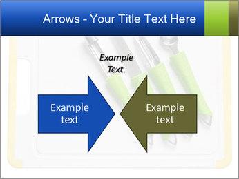 Green Kitchen Utensils PowerPoint Template - Slide 90