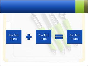 Green Kitchen Utensils PowerPoint Templates - Slide 95