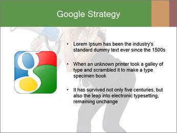 Fashion Model Makes Announcement PowerPoint Template - Slide 10