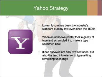 Fashion Model Makes Announcement PowerPoint Template - Slide 11