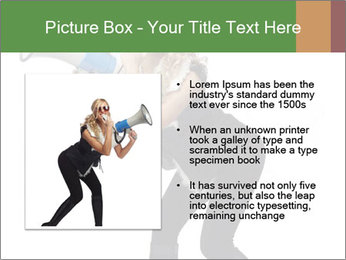 Fashion Model Makes Announcement PowerPoint Template - Slide 13