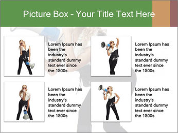 Fashion Model Makes Announcement PowerPoint Template - Slide 14