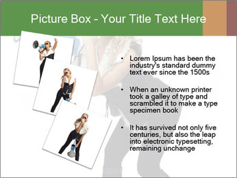 Fashion Model Makes Announcement PowerPoint Template - Slide 17