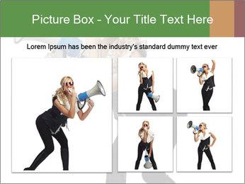 Fashion Model Makes Announcement PowerPoint Template - Slide 19