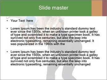 Fashion Model Makes Announcement PowerPoint Template - Slide 2