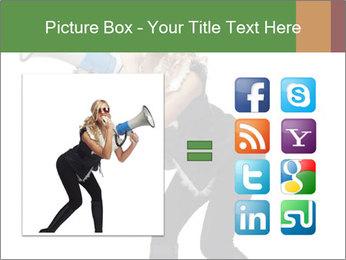 Fashion Model Makes Announcement PowerPoint Template - Slide 21