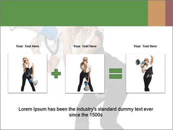 Fashion Model Makes Announcement PowerPoint Template - Slide 22