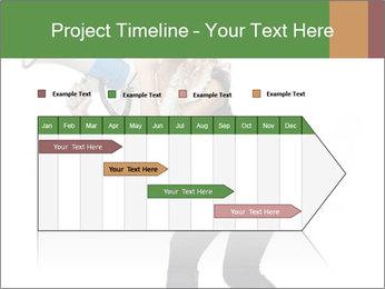 Fashion Model Makes Announcement PowerPoint Template - Slide 25