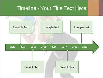 Fashion Model Makes Announcement PowerPoint Template - Slide 28