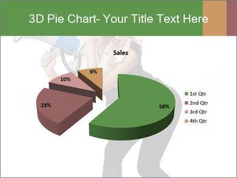 Fashion Model Makes Announcement PowerPoint Template - Slide 35