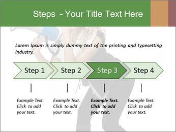 Fashion Model Makes Announcement PowerPoint Template - Slide 4