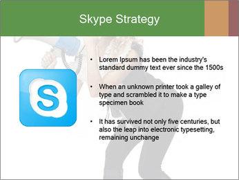 Fashion Model Makes Announcement PowerPoint Template - Slide 8