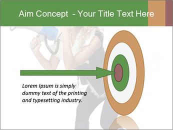 Fashion Model Makes Announcement PowerPoint Template - Slide 83