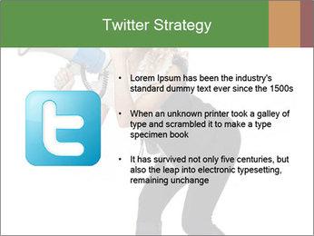 Fashion Model Makes Announcement PowerPoint Template - Slide 9