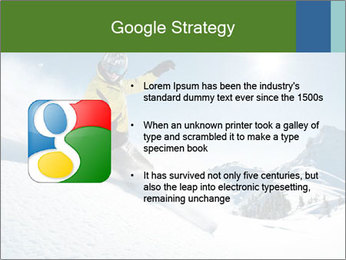 Snowboard Action PowerPoint Template - Slide 10