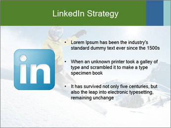 Snowboard Action PowerPoint Template - Slide 12