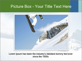 Snowboard Action PowerPoint Template - Slide 15