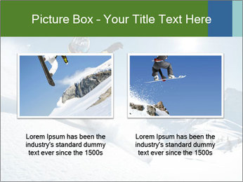 Snowboard Action PowerPoint Template - Slide 18