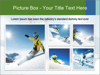 Snowboard Action PowerPoint Template - Slide 19