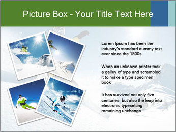 Snowboard Action PowerPoint Template - Slide 23