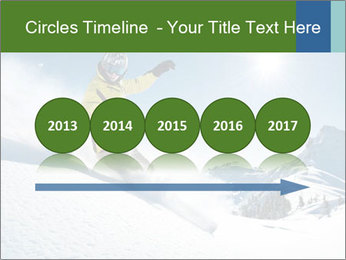 Snowboard Action PowerPoint Template - Slide 29