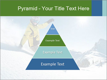 Snowboard Action PowerPoint Template - Slide 30