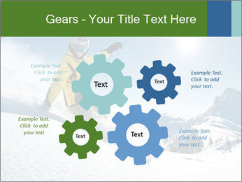 Snowboard Action PowerPoint Template - Slide 47