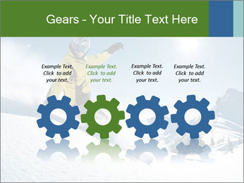Snowboard Action PowerPoint Template - Slide 48