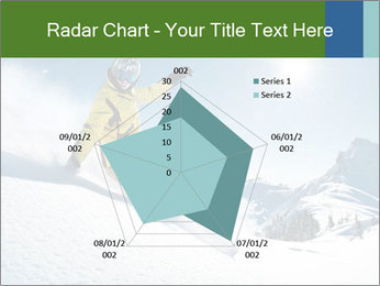Snowboard Action PowerPoint Template - Slide 51