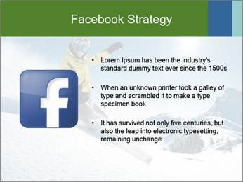Snowboard Action PowerPoint Template - Slide 6