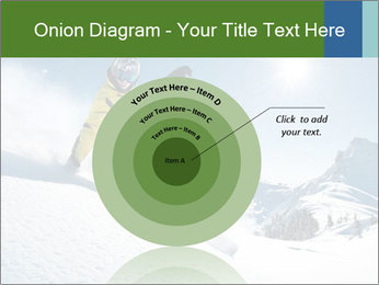 Snowboard Action PowerPoint Template - Slide 61