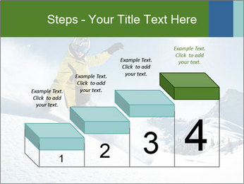 Snowboard Action PowerPoint Template - Slide 64