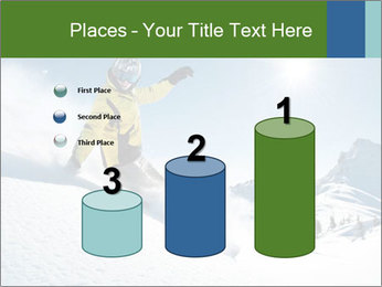 Snowboard Action PowerPoint Template - Slide 65