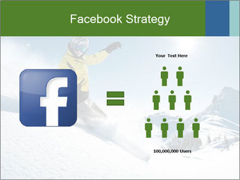 Snowboard Action PowerPoint Template - Slide 7