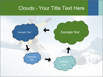 Snowboard Action PowerPoint Template - Slide 72