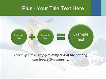 Snowboard Action PowerPoint Template - Slide 75