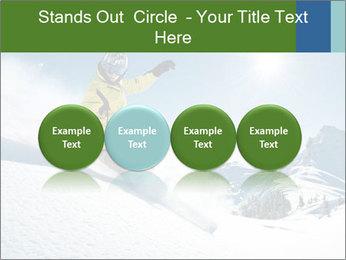 Snowboard Action PowerPoint Template - Slide 76