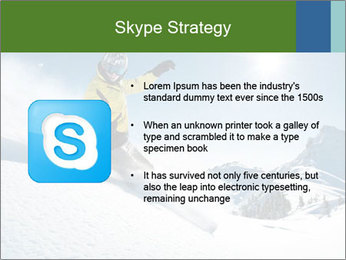 Snowboard Action PowerPoint Template - Slide 8