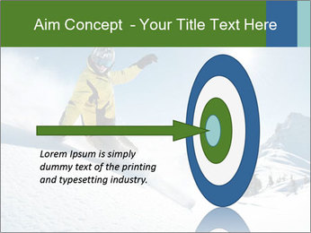 Snowboard Action PowerPoint Template - Slide 83