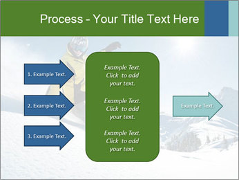 Snowboard Action PowerPoint Template - Slide 85